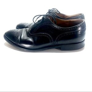 Church's Black leather Oxford dress shoes 10.5